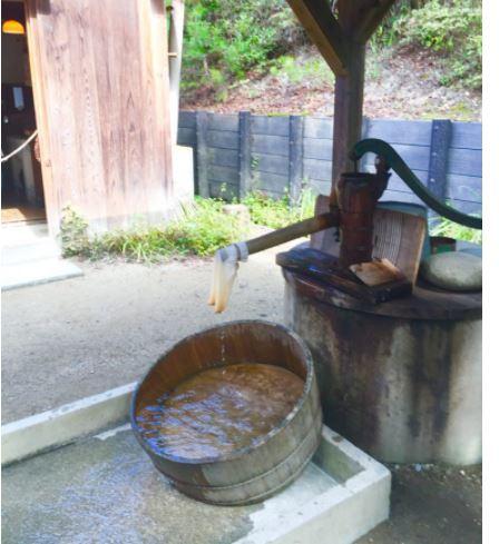 ウォータースタンド 井戸水